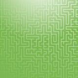 Kwadratowy koloru labiryntu wzór Prosta płaska wektorowa ilustracja Dla projekta papierowe tapety, tkaniny, opakunkowy papier, po ilustracji