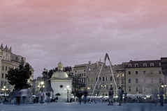 Kwadratowy Krakow Obrazy Royalty Free