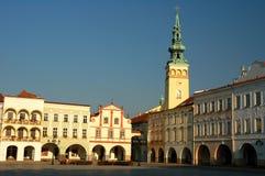 kwadratowy miasteczko Zdjęcie Stock