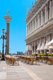 kwadratowy oceny st Venice Obrazy Stock