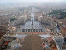 kwadratowy Peter st Rome s obraz royalty free