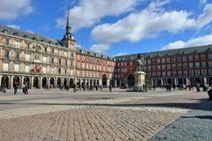 Kwadratowy placu Mayor Obrazy Royalty Free