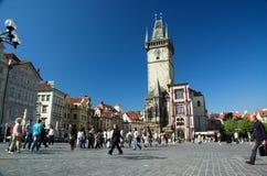 kwadratowy Prague stary miasteczko Fotografia Royalty Free