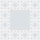Kwadratowy ramowy tło Zdjęcia Stock