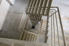 Kwadratowy schody obraz royalty free