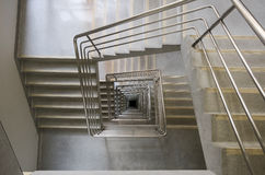 Kwadratowy schody Fotografia Royalty Free