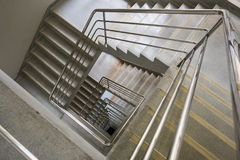 Kwadratowy schody Zdjęcia Stock
