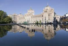 kwadratowy Spain zorrilla Valladolid Zdjęcie Stock