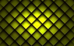 Kwadratowy tła pudełka nasunięcia warstwy kąt z astronautycznym cieniem dla teksta Obraz Stock