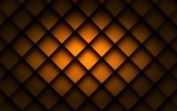 Kwadratowy tła pudełka nasunięcia warstwy kąt z astronautycznym cieniem dla teksta Obraz Royalty Free