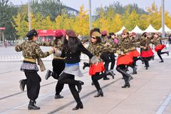 Kwadratowy taniec obrazy royalty free