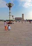 kwadratowy Tiananmen obraz royalty free