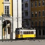 kwadratowy tramwaj Zdjęcie Royalty Free