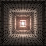 kwadratowy tunel ilustracji