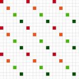 Kwadratowy wektorowy bezszwowy wzór Obraz Royalty Free