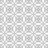 Kwadratowych różyczek bezszwowy wzór Obraz Stock