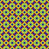 Kwadratowych różyczek bezszwowy wzór Fotografia Royalty Free