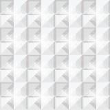 Kwadraty deseniują białego projekt Zdjęcia Royalty Free