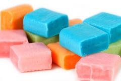 kwadraty słodyczy Fotografia Royalty Free