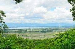 Kwahn Phayao or Phayao Lake Stock Photography