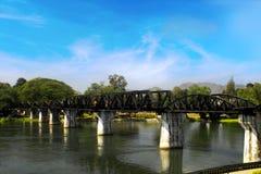 kwai γεφυρών πέρα από τον ποταμό &Ta Στοκ φωτογραφίες με δικαίωμα ελεύθερης χρήσης