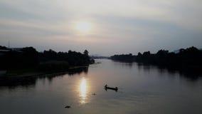 河Kwai 库存照片