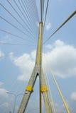 Kwai Bridge. Suspension bridge in Asia, Thailand Stock Photo