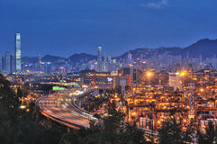 Kwai Chung container terminal Royalty Free Stock Photo