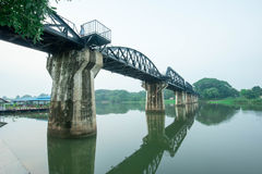 Kwai River Bridge, an old historical building Stock Photography