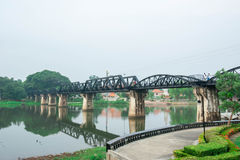 Kwai River Bridge, an old historical building Stock Images