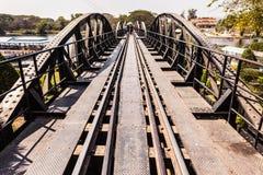Kwai River Bridge perspective Stock Photos