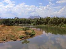 Kwai river, Thailand Stock Photo