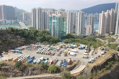 Kwai Tsing District at hong kong 2017. The Kwai Tsing District at hong kong 2017 Royalty Free Stock Photo