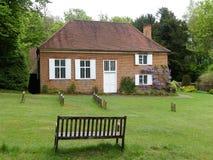 Kwakrów przyjaciół spotkania dom przy Jordans, Buckinghamshire, Anglia, UK obrazy stock