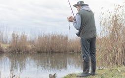 Kwaliteit visserijtijd Stock Fotografie
