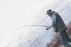 Kwaliteit visserijtijd Royalty-vrije Stock Afbeelding