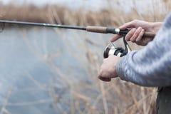 Kwaliteit visserijtijd Royalty-vrije Stock Foto's