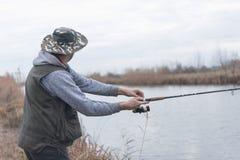 Kwaliteit visserijtijd Stock Afbeeldingen