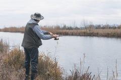 Kwaliteit visserijtijd Royalty-vrije Stock Afbeeldingen