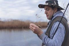 Kwaliteit visserijtijd Royalty-vrije Stock Fotografie