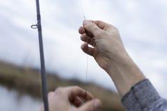 Kwaliteit visserijtijd Stock Foto
