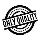 Kwaliteits slechts rubberzegel Stock Foto