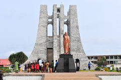 Kwame Nkrumah纪念公园 库存照片