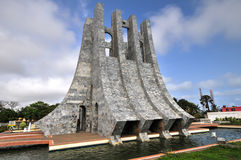 Kwame Nkrumah Memorial Park - Accra, Gana imagem de stock royalty free