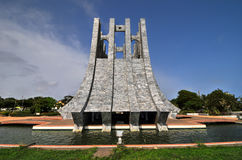 Kwame Nkrumah Memorial Park - Accra, Ghana Lizenzfreies Stockfoto