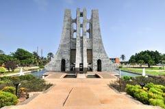 Kwame Nkrumah Memorial Park - Accra, Ghana arkivbild