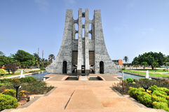 Kwame Nkrumah Memorial Park - Accra, Ghana. Kwame Nkrumah Memorial Park. Kwame Nkrumah Memorial Park (KNMP) is a National Park in Accra, Ghana named after Stock Photography
