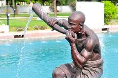 Kwame Nkrumah Memorial Park fontanna Zdjęcie Royalty Free