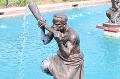 Kwame Nkrumah Memorial Park Fountain Royalty Free Stock Photos