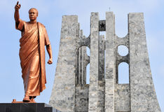 Kwame Nkrumah Memorial Park Monument Lizenzfreie Stockfotografie